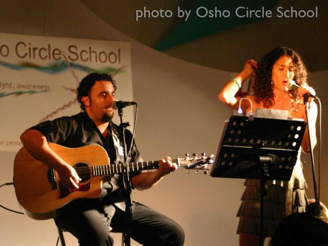 Osho-circle-school cuban duo concert