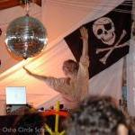 Osho-circle-school Halloween party: dj Gianni Svado Parrini