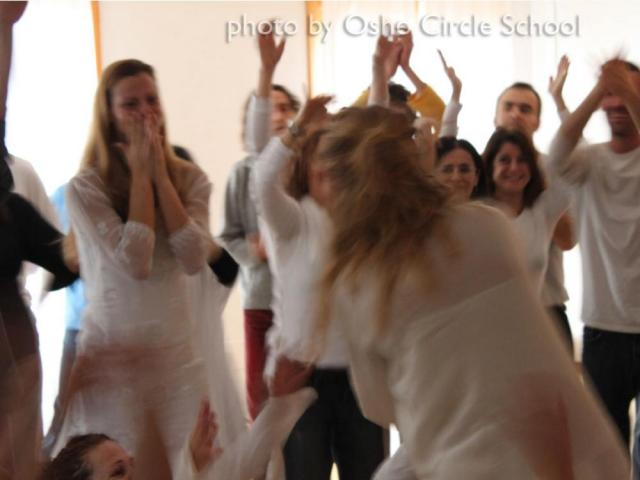 Osho-circle-school meditation 05