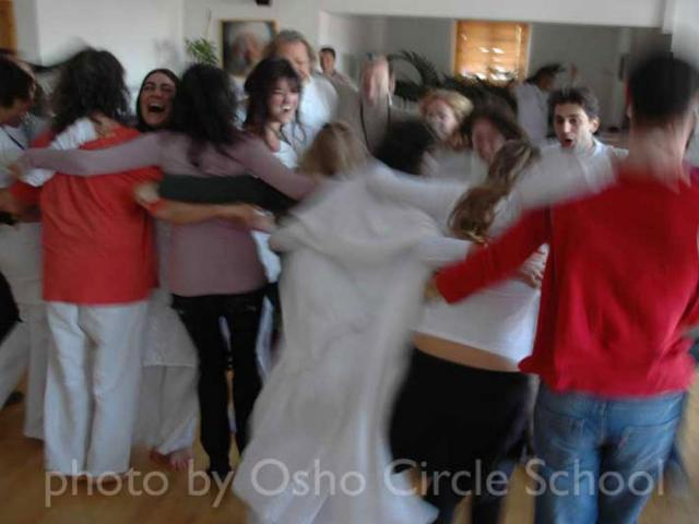 Osho-circle-school meditation 10