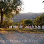 Osho-circle-school meditation 11