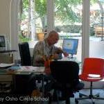 Osho-circle-school people 64