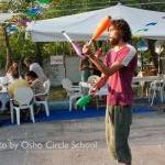 Osho-circle-school people 84